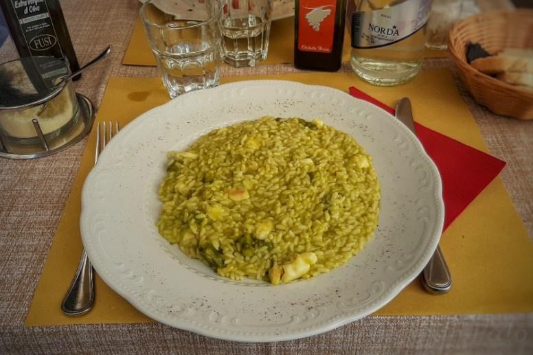 Comer en Toscana