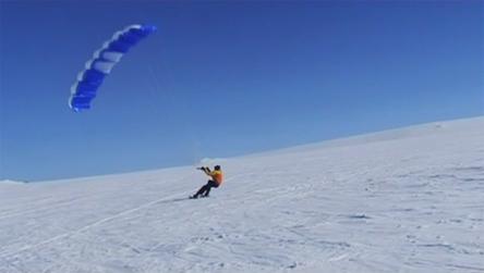 Video fr? skiseilinga p? Finse