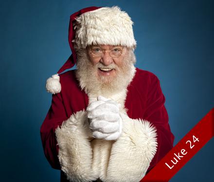Julenissen takkar for seg