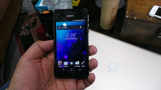 One of the first few LTE smartphones that landed locally