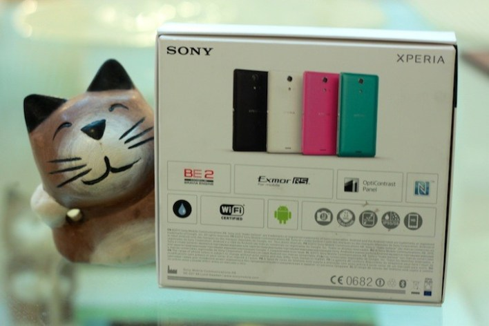 Other colors of the Sony Xperia ZR