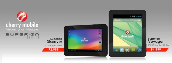 New tablets from Cherry Mobile!