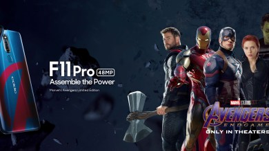 Photo of OPPO Announces F11 Pro Avengers Limited Edition Variant