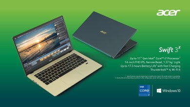 Photo of Acer Updates its Consumer Laptops with Intel Tiger Lake Processors