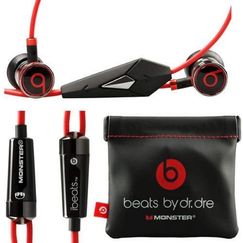 Golpes del monstruo por el Dr. Dre iBeats en los auriculares del oído