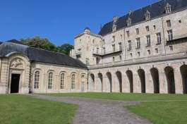vue du château de la Roche-Guyon