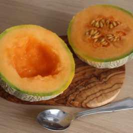 melon decoupé