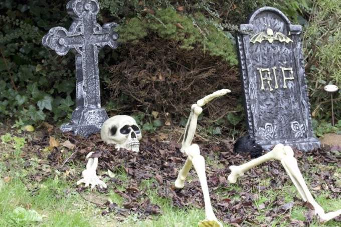 Cimetiere - Halloween