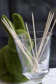 bâtonnets pour séchage des oeufs
