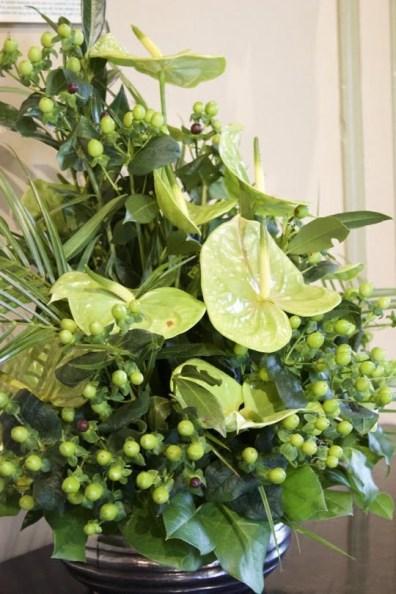 Bouquet vert à Villandry