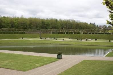 vue sur le jardin d'eau