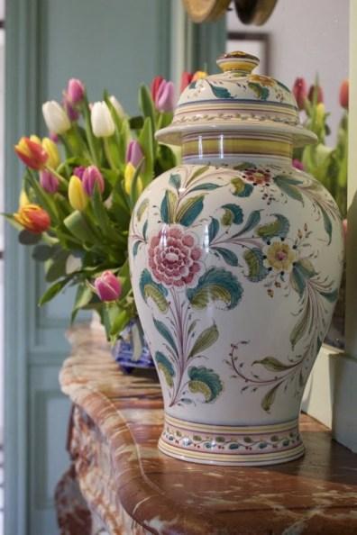 Tulipes à Villandry