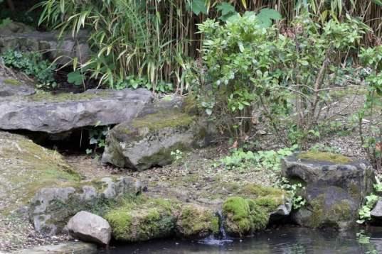 Bassin du parc du château de Monte Cristo
