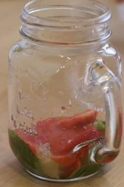 coulis de fraises pour virgin Mojito