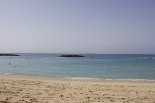 Plage de Playa Blanca à Lanzarote