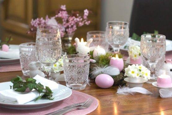 Une jolie table pour Pâques.