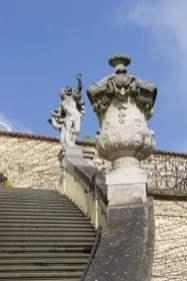 Escalier du jardin de Vrtba à Prague