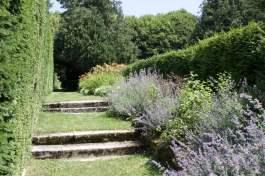 Jardin de la lune au château d'Ambleville