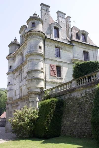 Façade nord du château d'Ambleville