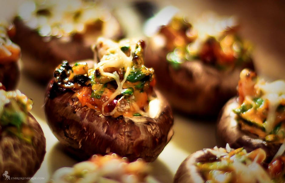 Keto Friendly Stuffed Mushrooms