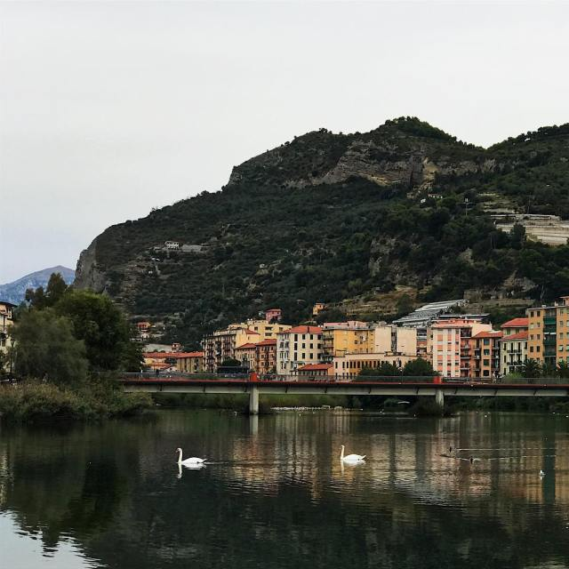 The little Italian town of Ventimiglia  situated at thehellip