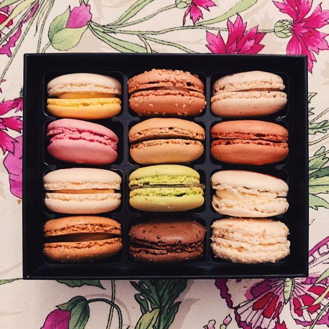 Splurged on some macarons yesterday!     hellip