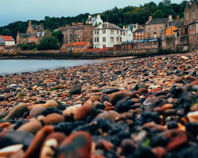 Throwback to Queensferry beaches I still have shells and rockshellip