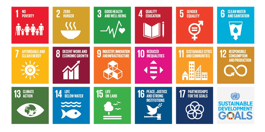 Image result for un sustainability goals 2018