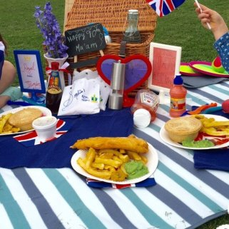 A Royal picnic to celebrate The Queen's 90th