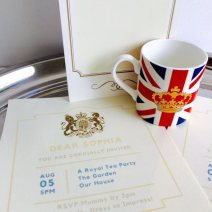 When you receive a letter from The Palace, it's time to celebrate!