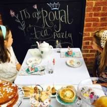 A Royal Afternoon Tea to celebrate a letter from The Queen. Afternoon tea ideas for children