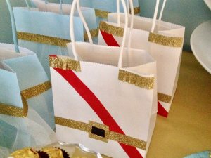 Cinderella treat bags for little Princes