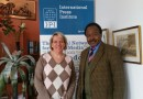 DI Abdalla Sharief visited the IPI-Interntional Press Institute in Vienna and had a talk with Christiane Klint-Manager for Global Relations