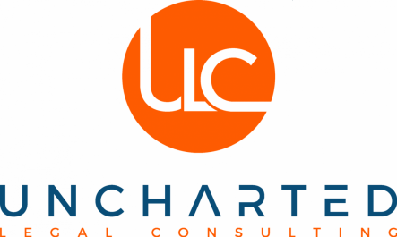 Uncharted Legal Consulting Logo Centered with Words