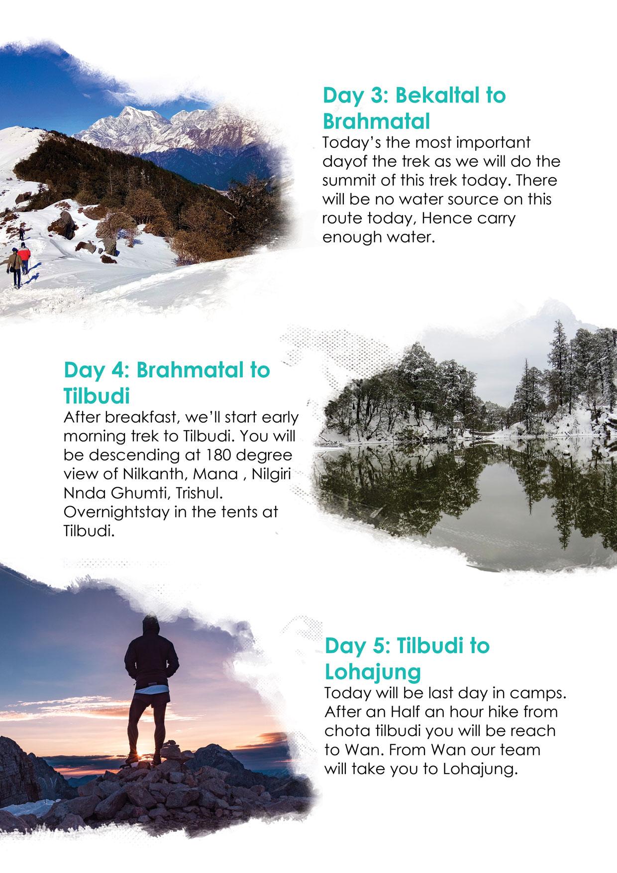 brahmatal lake trek