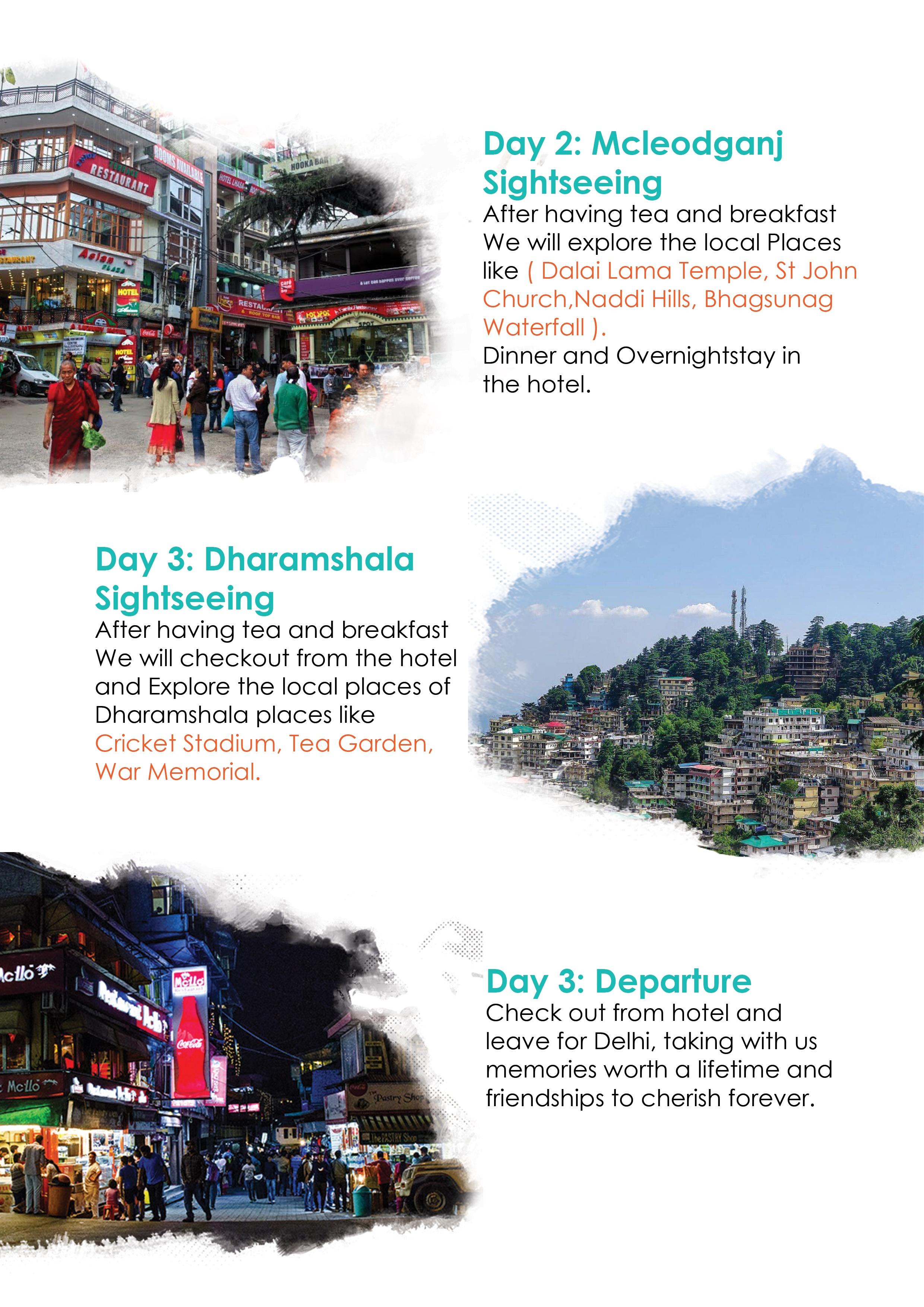 dharamshala mcleodganj triund trek paragliding