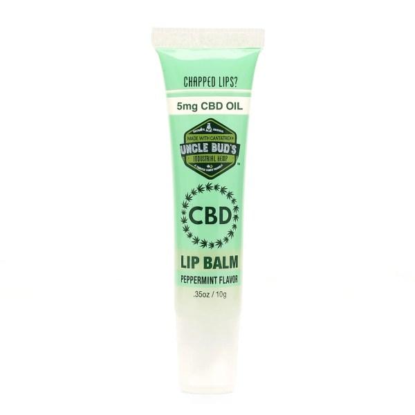 Uncle Bud's CBD Lip Balm Peppermint