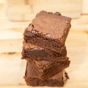 Home Classic: Choco Brownie Square 1/2 Dozen