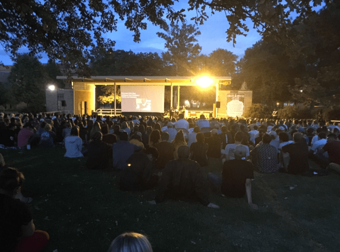 Crowds gathered at UNC's Take Back The Night event