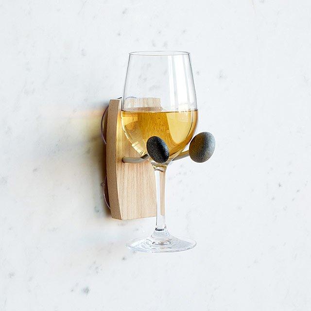 Bathtime Essentials Wine Holder