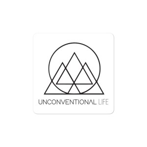 Black Square UL Sticker