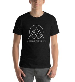 Short-Sleeve Unisex T-Shirt – Black Heather