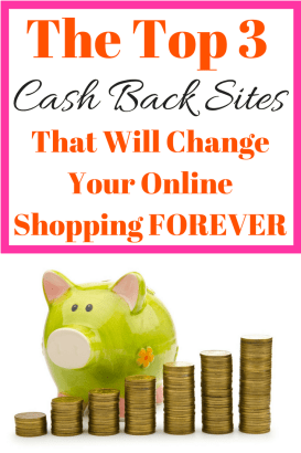 These top 3 cash back websites will change the way you shop online FOREVER! Check them out and be prepared to never go back to the way you use to shop online!
