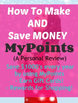 MyPoints Review - We love all cash back sites and Mypoints is in our top 3 for easy cash back!