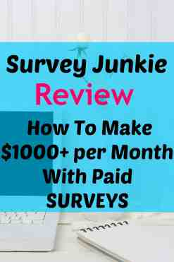 Wow thanks for posting this awesome review on Survey Junkie! I LOVE this paid survey site and have used it to make hundreds of dollars of extra cash! This is one of the BEST ways to make money online!
