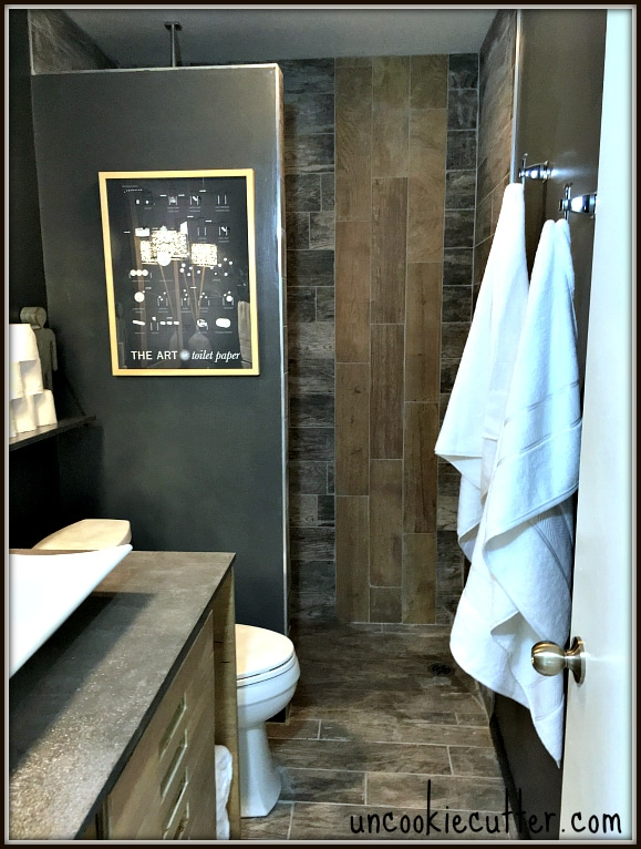 walk in seamless entry shower with