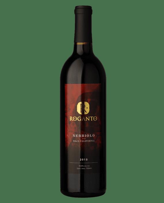 bottle of Roganto Nebbiolo 2015