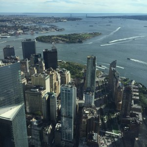 Vue du One world Trade Center