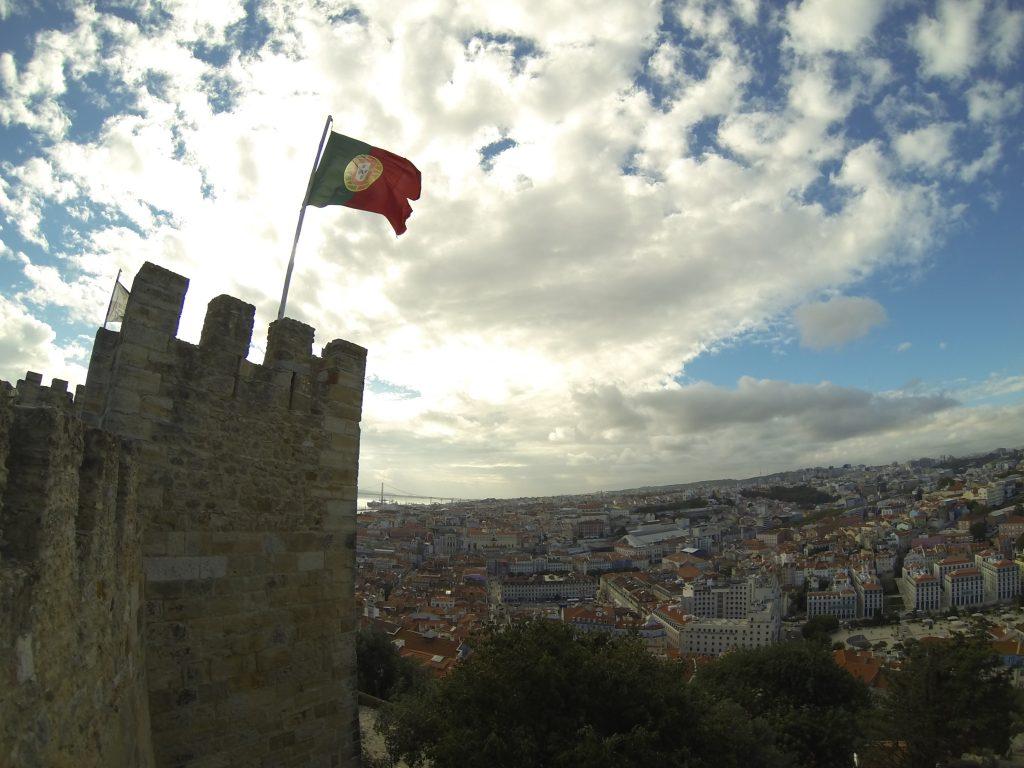 Un couple en vadrouille à Lisbonne