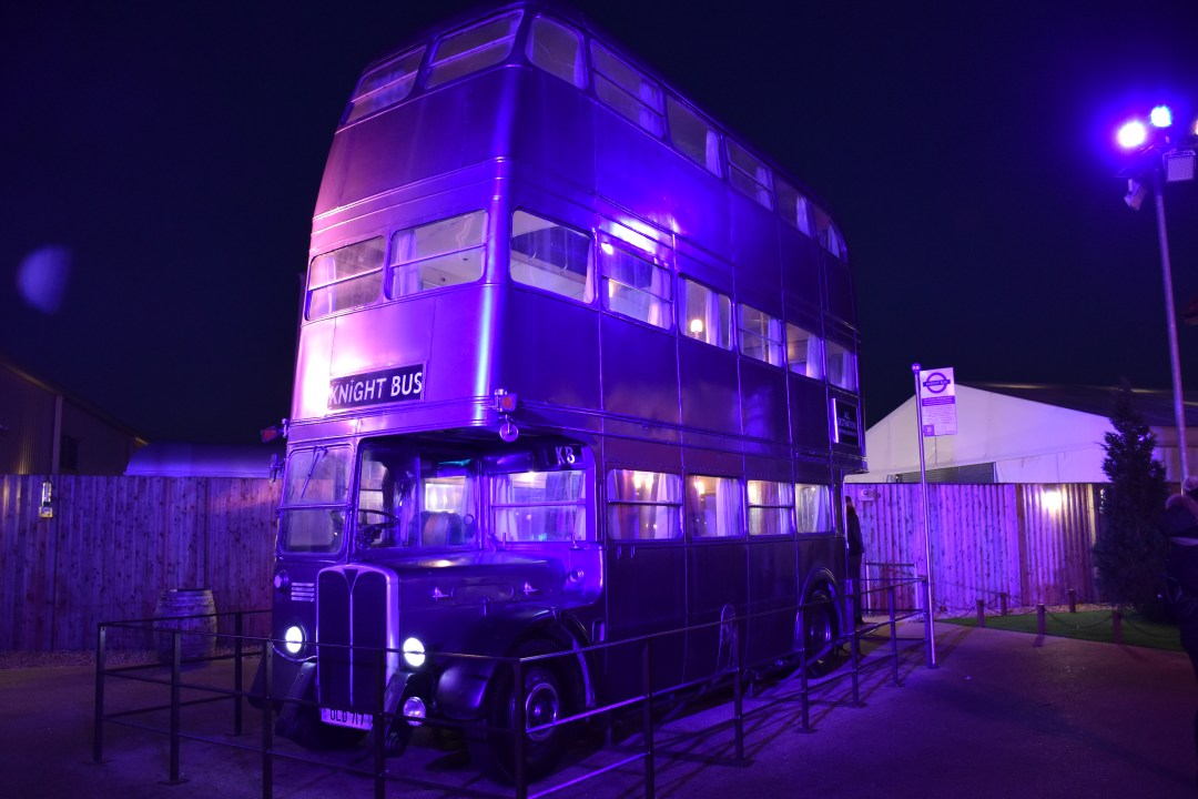 bus harry potter studios londres